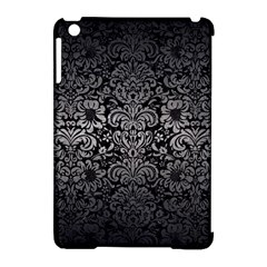 Damask2 Black Marble & Gray Metal 1 Apple Ipad Mini Hardshell Case (compatible With Smart Cover) by trendistuff