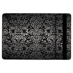 Damask2 Black Marble & Gray Metal 1 Ipad Air Flip by trendistuff