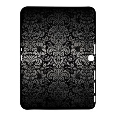Damask2 Black Marble & Gray Metal 1 Samsung Galaxy Tab 4 (10 1 ) Hardshell Case  by trendistuff