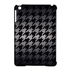 Houndstooth1 Black Marble & Gray Metal 1 Apple Ipad Mini Hardshell Case (compatible With Smart Cover) by trendistuff
