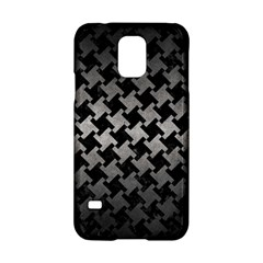 Houndstooth2 Black Marble & Gray Metal 1 Samsung Galaxy S5 Hardshell Case  by trendistuff