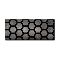 HEXAGON2 BLACK MARBLE & GRAY METAL 1 (R) Cosmetic Storage Cases