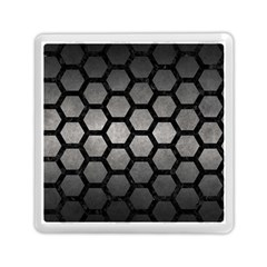 HEXAGON2 BLACK MARBLE & GRAY METAL 1 (R) Memory Card Reader (Square)