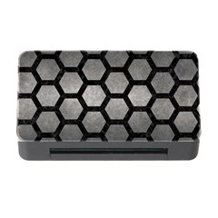 HEXAGON2 BLACK MARBLE & GRAY METAL 1 (R) Memory Card Reader with CF