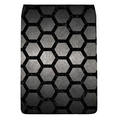 HEXAGON2 BLACK MARBLE & GRAY METAL 1 (R) Flap Covers (S)