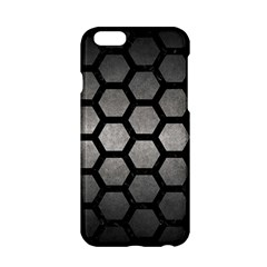 HEXAGON2 BLACK MARBLE & GRAY METAL 1 (R) Apple iPhone 6/6S Hardshell Case
