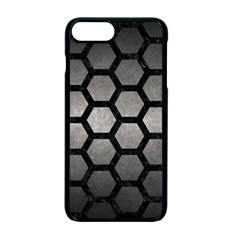 Hexagon2 Black Marble & Gray Metal 1 (r) Apple Iphone 7 Plus Seamless Case (black) by trendistuff