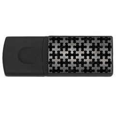 Puzzle1 Black Marble & Gray Metal 1 Rectangular Usb Flash Drive by trendistuff