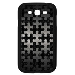 Puzzle1 Black Marble & Gray Metal 1 Samsung Galaxy Grand Duos I9082 Case (black) by trendistuff