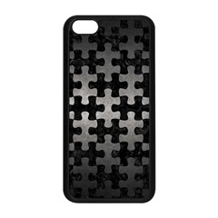 Puzzle1 Black Marble & Gray Metal 1 Apple Iphone 5c Seamless Case (black) by trendistuff