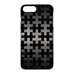 Puzzle1 Black Marble & Gray Metal 1 Apple Iphone 7 Plus Hardshell Case by trendistuff