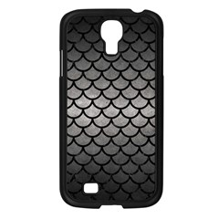 Scales1 Black Marble & Gray Metal 1 (r) Samsung Galaxy S4 I9500/ I9505 Case (black) by trendistuff