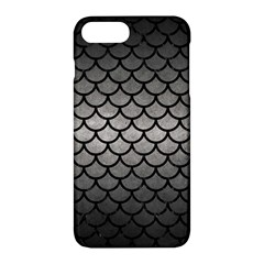 Scales1 Black Marble & Gray Metal 1 (r) Apple Iphone 7 Plus Hardshell Case by trendistuff