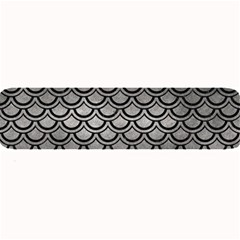 Scales2 Black Marble & Gray Metal 1 (r) Large Bar Mats by trendistuff