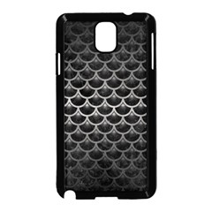 Scales3 Black Marble & Gray Metal 1 Samsung Galaxy Note 3 Neo Hardshell Case (black) by trendistuff