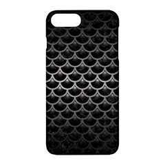 Scales3 Black Marble & Gray Metal 1 Apple Iphone 7 Plus Hardshell Case by trendistuff