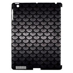 Scales3 Black Marble & Gray Metal 1 (r) Apple Ipad 3/4 Hardshell Case (compatible With Smart Cover) by trendistuff