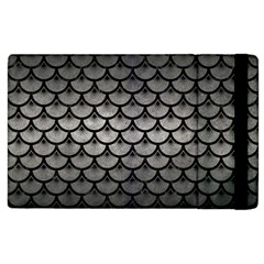 Scales3 Black Marble & Gray Metal 1 (r) Apple Ipad 3/4 Flip Case by trendistuff
