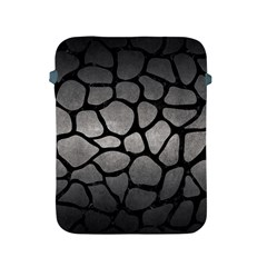 Skin1 Black Marble & Gray Metal 1 Apple Ipad 2/3/4 Protective Soft Cases by trendistuff