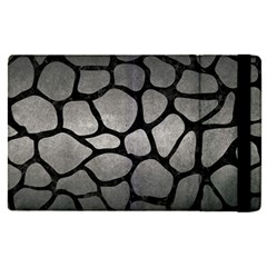 Skin1 Black Marble & Gray Metal 1 Apple Ipad Pro 12 9   Flip Case by trendistuff