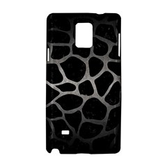 Skin1 Black Marble & Gray Metal 1 (r) Samsung Galaxy Note 4 Hardshell Case by trendistuff