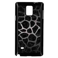 Skin1 Black Marble & Gray Metal 1 (r) Samsung Galaxy Note 4 Case (black) by trendistuff