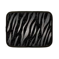 Skin3 Black Marble & Gray Metal 1 Netbook Case (small)  by trendistuff