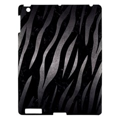 Skin3 Black Marble & Gray Metal 1 Apple Ipad 3/4 Hardshell Case by trendistuff