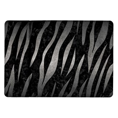 Skin3 Black Marble & Gray Metal 1 Samsung Galaxy Tab 10 1  P7500 Flip Case by trendistuff