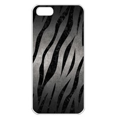 Skin3 Black Marble & Gray Metal 1 (r) Apple Iphone 5 Seamless Case (white) by trendistuff