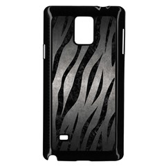 Skin3 Black Marble & Gray Metal 1 (r) Samsung Galaxy Note 4 Case (black) by trendistuff