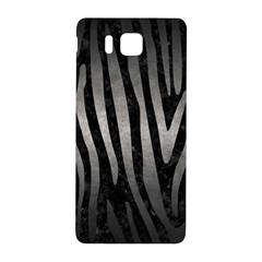 Skin4 Black Marble & Gray Metal 1 (r) Samsung Galaxy Alpha Hardshell Back Case by trendistuff