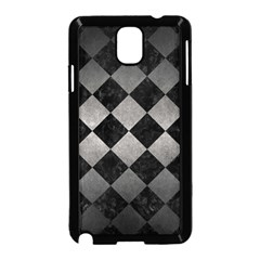 Square2 Black Marble & Gray Metal 1 Samsung Galaxy Note 3 Neo Hardshell Case (black) by trendistuff