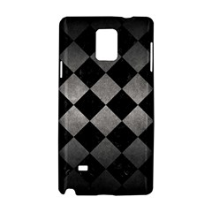Square2 Black Marble & Gray Metal 1 Samsung Galaxy Note 4 Hardshell Case by trendistuff