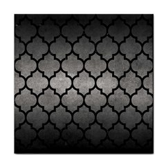 Tile1 Black Marble & Gray Metal 1 (r) Face Towel