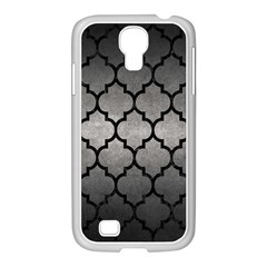 Tile1 Black Marble & Gray Metal 1 (r) Samsung Galaxy S4 I9500/ I9505 Case (white) by trendistuff
