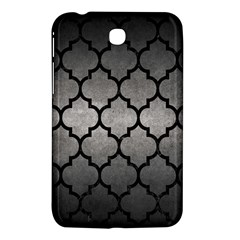 Tile1 Black Marble & Gray Metal 1 (r) Samsung Galaxy Tab 3 (7 ) P3200 Hardshell Case  by trendistuff
