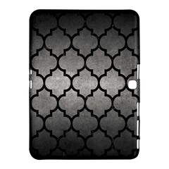Tile1 Black Marble & Gray Metal 1 (r) Samsung Galaxy Tab 4 (10 1 ) Hardshell Case  by trendistuff