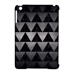 Triangle2 Black Marble & Gray Metal 1 Apple Ipad Mini Hardshell Case (compatible With Smart Cover) by trendistuff