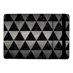 Triangle3 Black Marble & Gray Metal 1 Samsung Galaxy Tab Pro 10 1  Flip Case by trendistuff