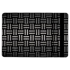 Woven1 Black Marble & Gray Metal 1 Ipad Air Flip by trendistuff