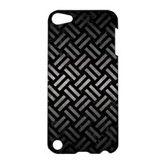 Woven2 Black Marble & Gray Metal 1 Apple Ipod Touch 5 Hardshell Case by trendistuff
