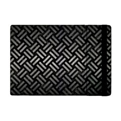 Woven2 Black Marble & Gray Metal 1 Ipad Mini 2 Flip Cases by trendistuff