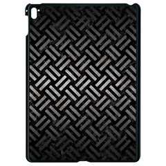 Woven2 Black Marble & Gray Metal 1 Apple Ipad Pro 9 7   Black Seamless Case by trendistuff