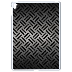 Woven2 Black Marble & Gray Metal 1 (r) Apple Ipad Pro 9 7   White Seamless Case by trendistuff