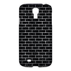 Brick1 Black Marble & Gray Metal 2 Samsung Galaxy S4 I9500/i9505 Hardshell Case by trendistuff