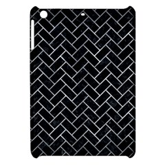 Brick2 Black Marble & Gray Metal 2 Apple Ipad Mini Hardshell Case by trendistuff