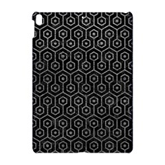 Hexagon1 Black Marble & Gray Leather Apple Ipad Pro 10 5   Hardshell Case by trendistuff
