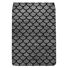 Scales1 Black Marble & Gray Leather (r) Flap Covers (s)  by trendistuff
