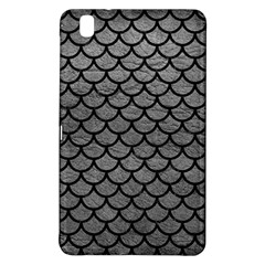 Scales1 Black Marble & Gray Leather (r) Samsung Galaxy Tab Pro 8 4 Hardshell Case by trendistuff